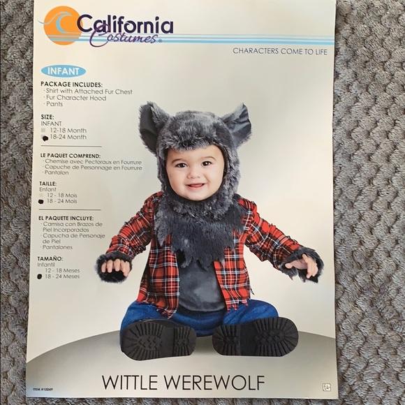 California Costumes Other - Werewolf Costume